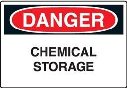 danger chemical storage - Một số lưu ý trong bảo quản, lưu trữ hóa chất